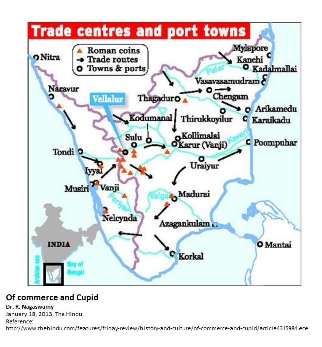1-  Ancient Trade Routes Tamil Nadu 1