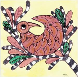 Siragu Gond Art2
