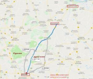 siragu Madurai-Trichy by Foot