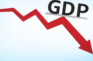 GDP growth slow india